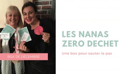 La box de décembre des Nanas Zéro Déchet