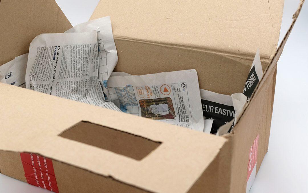 19 idées de DIY à faire avec le carton de ta box !
