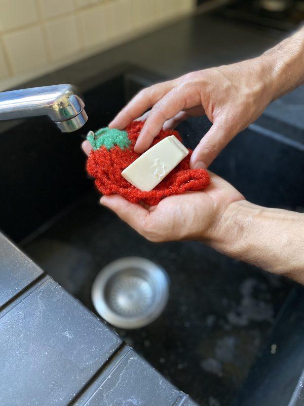 Eponge durable lavable
