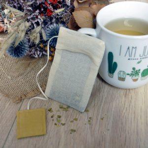 filtre thé réutilisable zero dechet