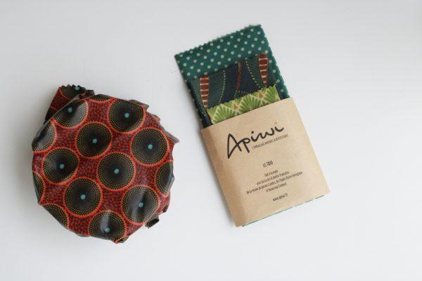 Trio Bee Wrap - les nanas zéro déchet