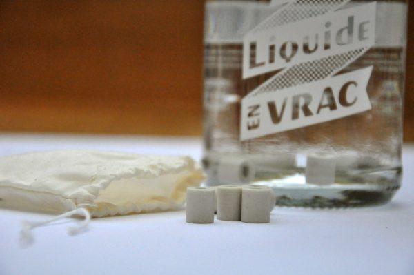 Perles de céramique pour purifier l'eau