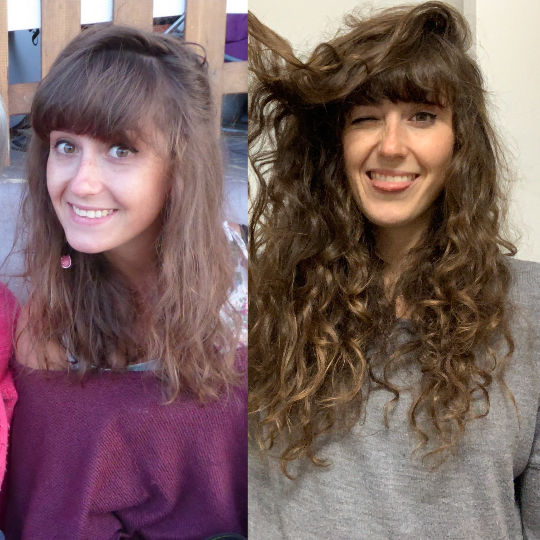cheveux naturels après cure de sebum