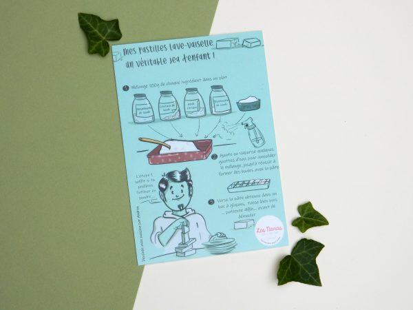 recette pastille lave vaisselle