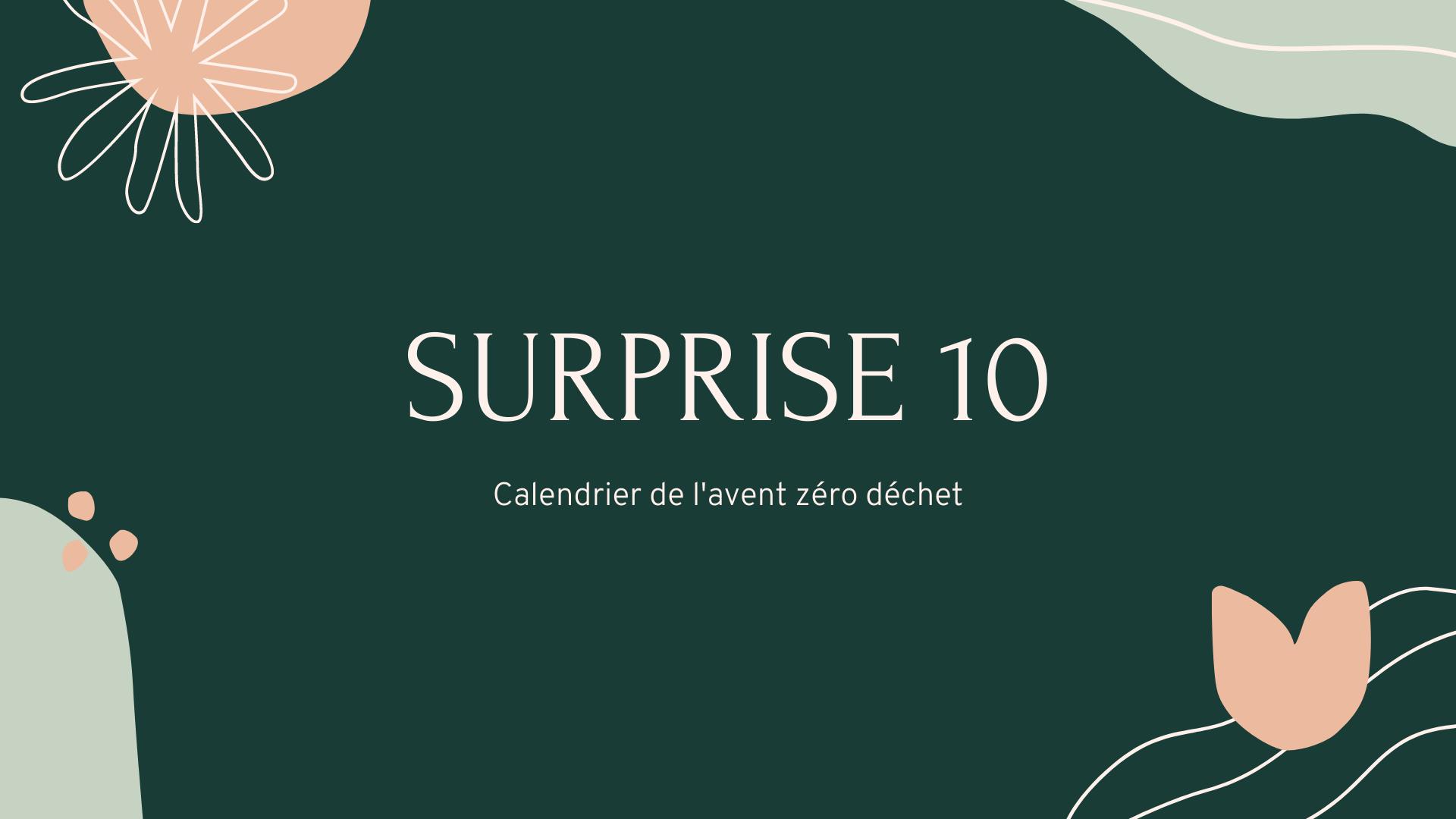 calendrier de l'avent numéro 10